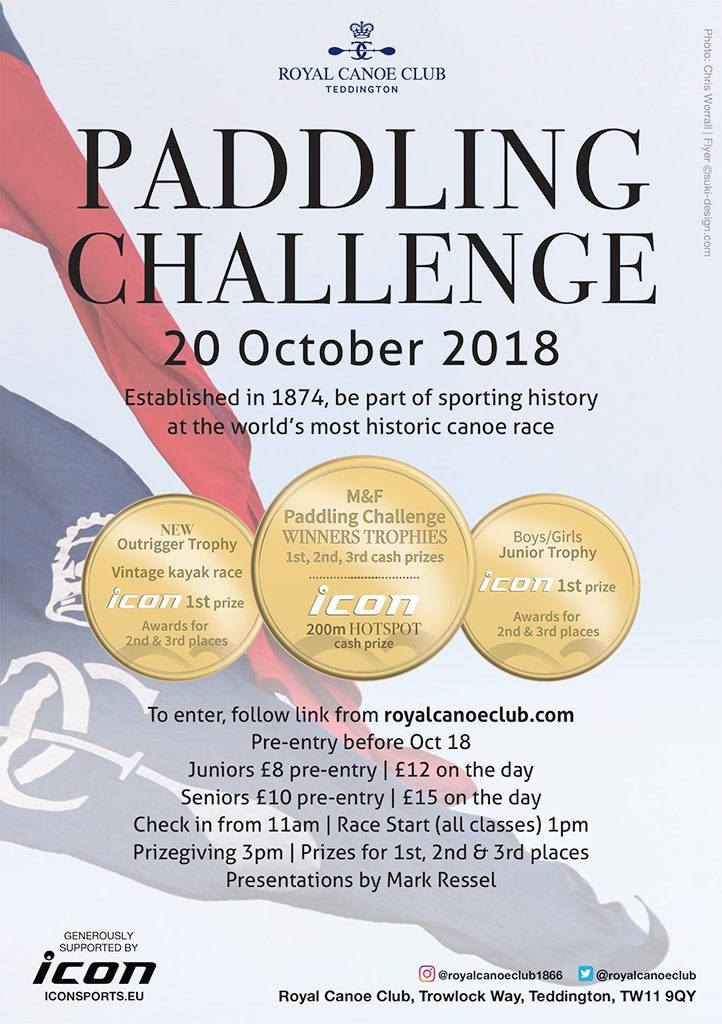 paddling challenge royal canoe club